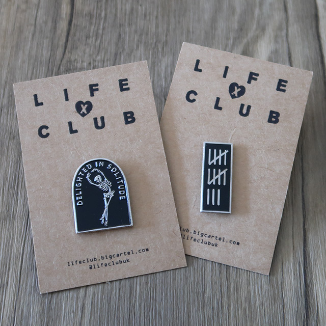 Gothic pins by Life Club